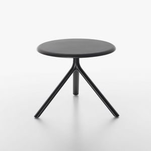 Miura | Tavolino rotondo, Tavolino con piano ribaltabile
