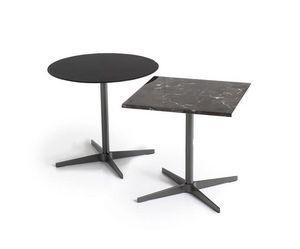 Basic, Collezioni di tavolini con base in metallo