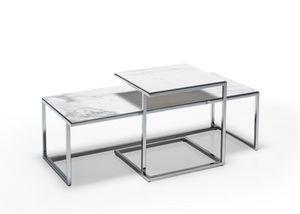 Elite - Elite/B, Tavolini con piano in ceramica