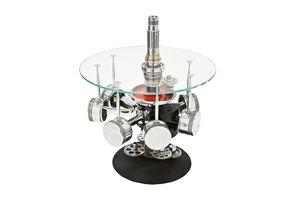 AIR-TAV0036, Tavolino realizzato con parti del motore di un aereo
