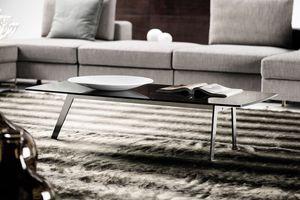 DCV 500, Tavolini  con piano in cristallo fum�