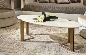 Gold Art. 6655, Tavolino ovale laccato