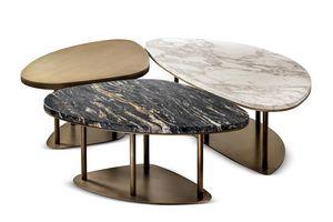 Ninfea tavolini, Trittico di tavolini