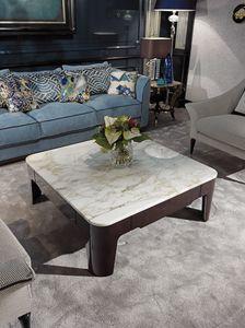 PALAIS-ROYAL Tavolino, Tavolino di lusso con piano in marmo