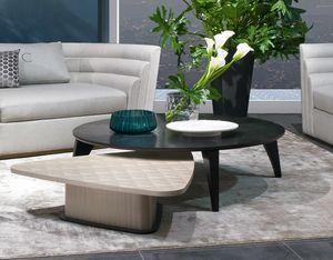 TL63B Circle tavolino, Tavolino circolare in legno