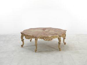 102, Tavolino stile classico, con piano in marmo