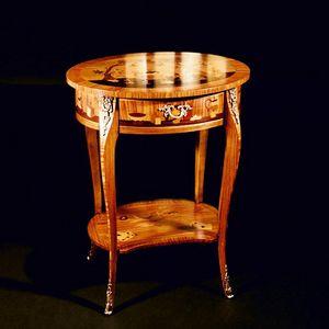 Art. 115 Cinese, Tavolino intarsiato Stile Luigi XV