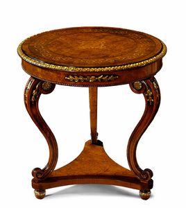 Art. 209, Tavolino con piano intarsiato