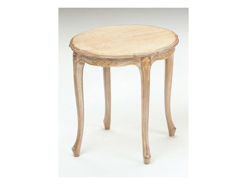 Art. 262, Tavolino in legno, stile classico, per zona giorno