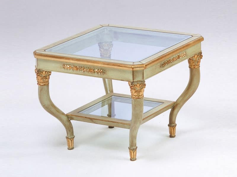Art. 302 Mida, Tavolino elegantemente lavorato, per albergo di lusso