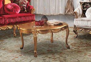CASANOVA tavolino, Tavolino intagliato artigianalmente