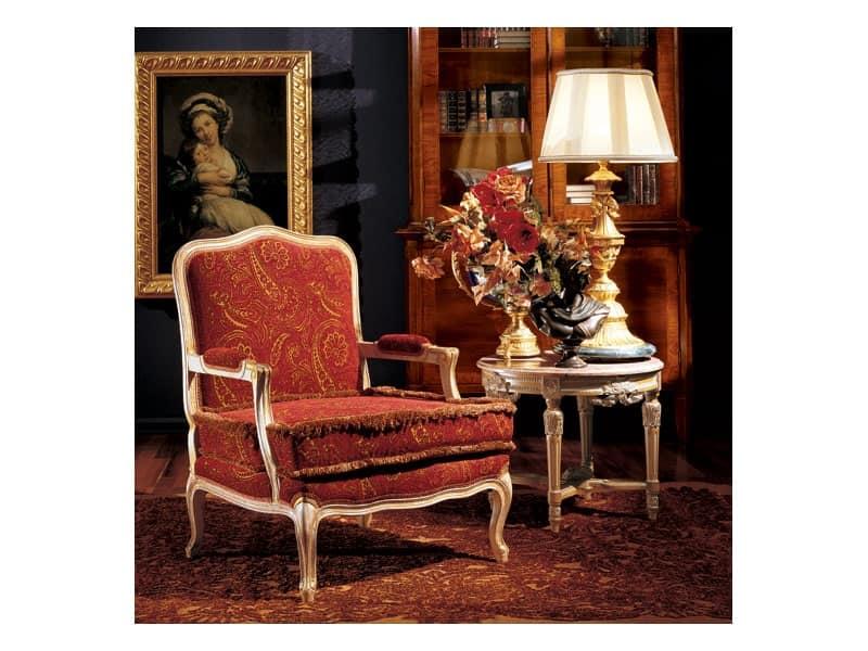 Complements tavolino 861, Tavolino tondo classico di lusso