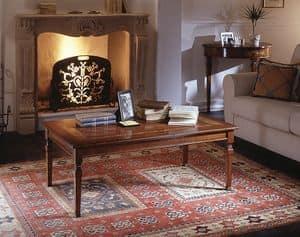 D 503, Tavolino con intarsio floreale, in stile classico