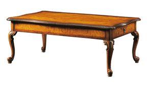 Dante FA.0122, Tavolino rettangolare '700 veneziano