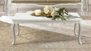 Giulietta Art. 3614 - 3714, Tavolino con piano intarsiato