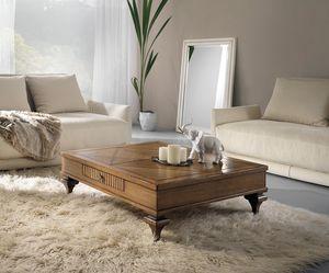 Inglese tavolino in rovere, Tavolino classico in legno