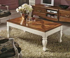 Quadrifoglio tavolino, Tavolino rettangolare apribile