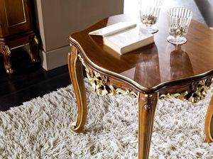 Regency portalampada, Tavolino porta lampada stile classico