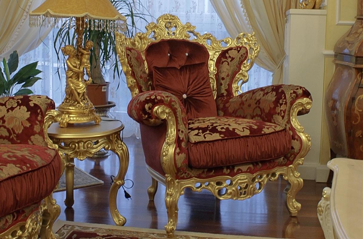 Stradivari piccolo, Tavolino glamour in stile barocco