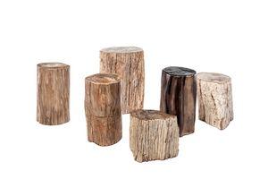 Fossil 0462, Tavolini in legno fossile