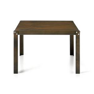 TA51, Tavolino in acciaio, anche per esterni
