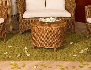 Tavolino Hamilton, Tavolino rotondo in giacinto naturale