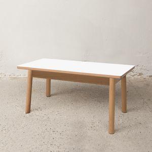 Tavolino Basso 75x40 cm, Tavolino outlet in legno