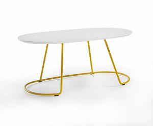 Botero Mignon, Tavolino ovale per sala attesa