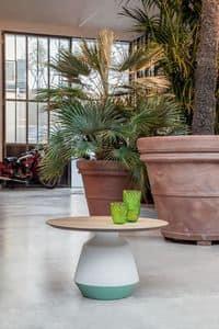 AMIRA, Tavolino moderni in ceramica, eleganti, per la casa