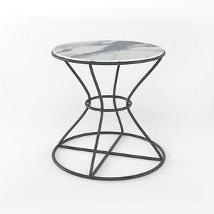 Clessidra Light, Tavolino con piano tondo