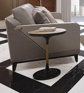 Dilan Art. D16/A/MET - D16/MAR, Tavolino tondo da salotto