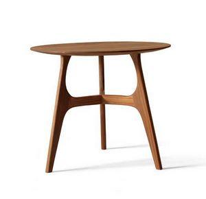 H-122, Tavolino tondo in legno