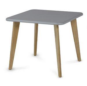 HIRO 1471, Tavolino quadrato in legno