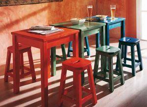Bar, Solido tavolo in pino, per ristoranti