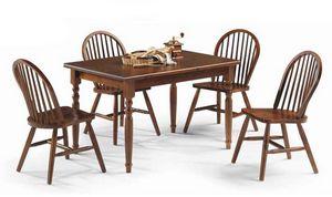 Bormio, Tavolo in legno rustico, per agriturismo e osterie