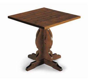 Tirano-410, Tavolo rustico in legno di pino