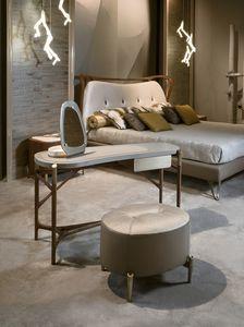 AFRODITE toilette GEA Collection, Consolle trucco con cassetto, piano in marmo