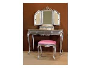 Art. 1775 1776, Tavolino classico in legno intagliato per hotel di lusso