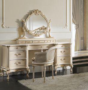 ART. 2855L, Toeletta classica in legno laccato