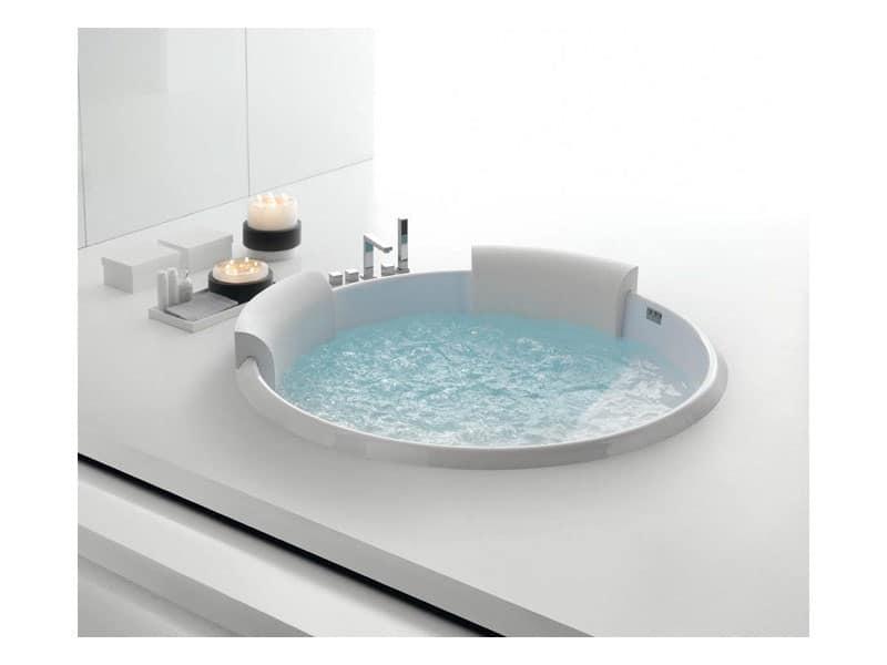 Vasca da bagno moderna, massaggio diffuso, per resort  IDFdesign