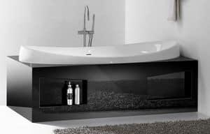 CHARME BATHTUB, Vasca da bagno in ceramica