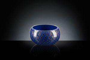 Mocenigo Vaso Ciotola, Vaso decorativo in vetro soffiato