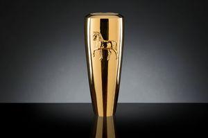 Obice Horse Relief Vaso, Vaso decorativo moderno