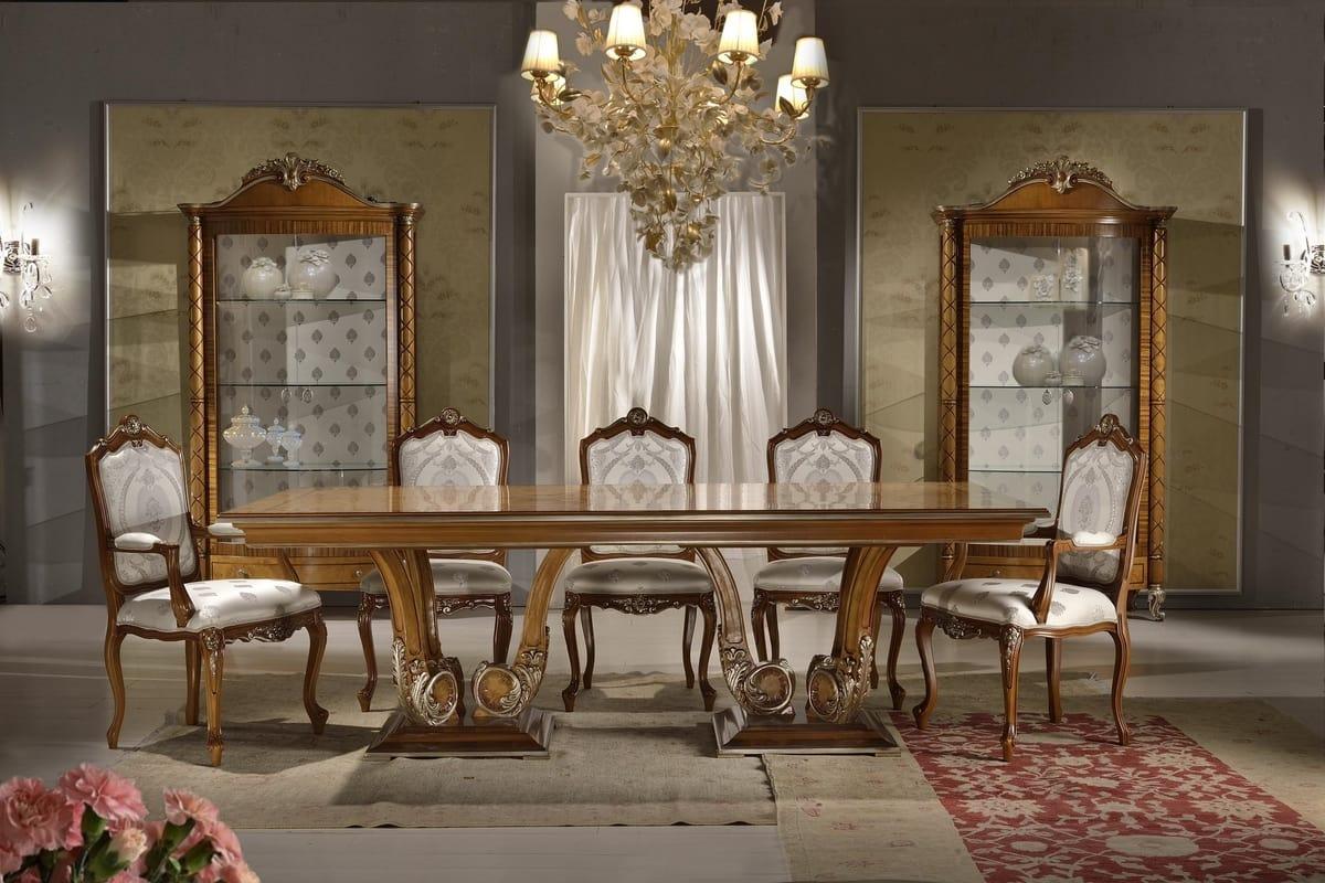 Vetrina classica per sala da pranzo | IDFdesign