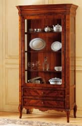 Art. 903 vetrina '800 Francese, Mobile portaoggetti, per galleria d'arte antica