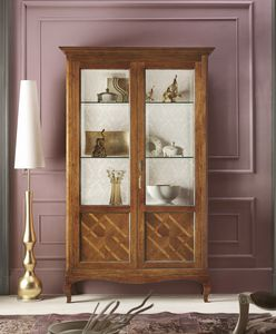 Floreale vetrina, Vetrina dal design tradizionale