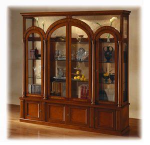 V451 Le Colonne vetrina, Vetrina classica con illuminazione, a prezzo outlet