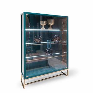 Beverly Art. 818, Elegante vetrina con illuminazione