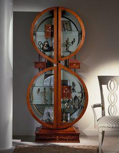 V558 Fiordiloto vetrina, Vetrina outlet, dal design che ricorda una nota musicale
