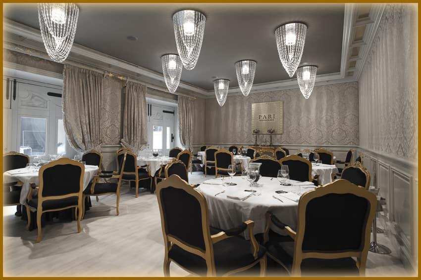Ristorante Parì Luxury Hall